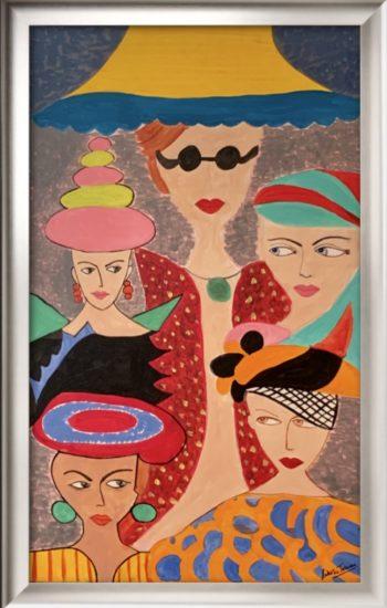 Confidently Complexed,Sakshi Talwar, Acrylic on Canvas, 20 x32