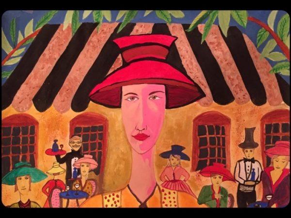 Hidden Isolation, Sakshi Talwar, Paper on Canvas, 30 x24, $1850