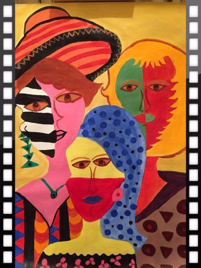 Hypicrisy Sakshi Talwar, Paper on Canvas, 20 x32, $2000