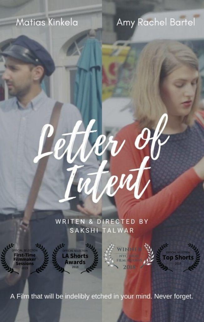 letter of intent- sakshi talwar